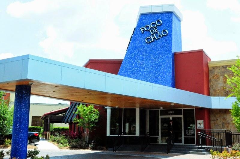 Fogo de chão em Orlando