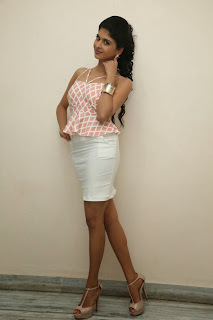 Actress Naveena Latest Pictures in Mini Skirt at Ice Cream 2 Press Meet  046