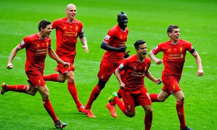 LIVERPOOL 3 - 2 Manchester City  #13/04/2014  #EPL