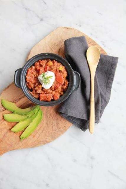 chili con carne met een Indiase twist - www.desmaakvancecile.com