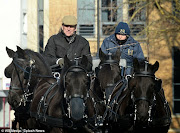 PRINCE PHILIP OUT AND ABOUT IN WINDSOR