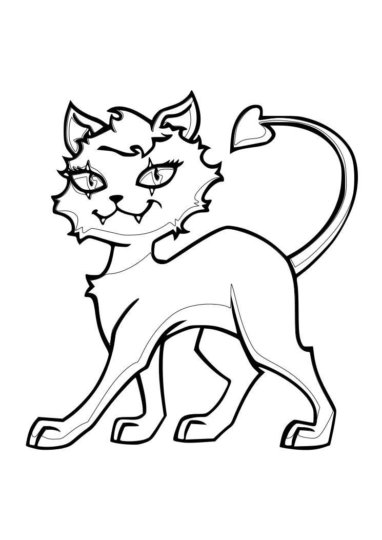 Dibujos Para Colorear Pintar Imprimir Monster
