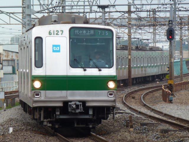 東京メトロ千代田線 代々木上原行き1 6000系幕式