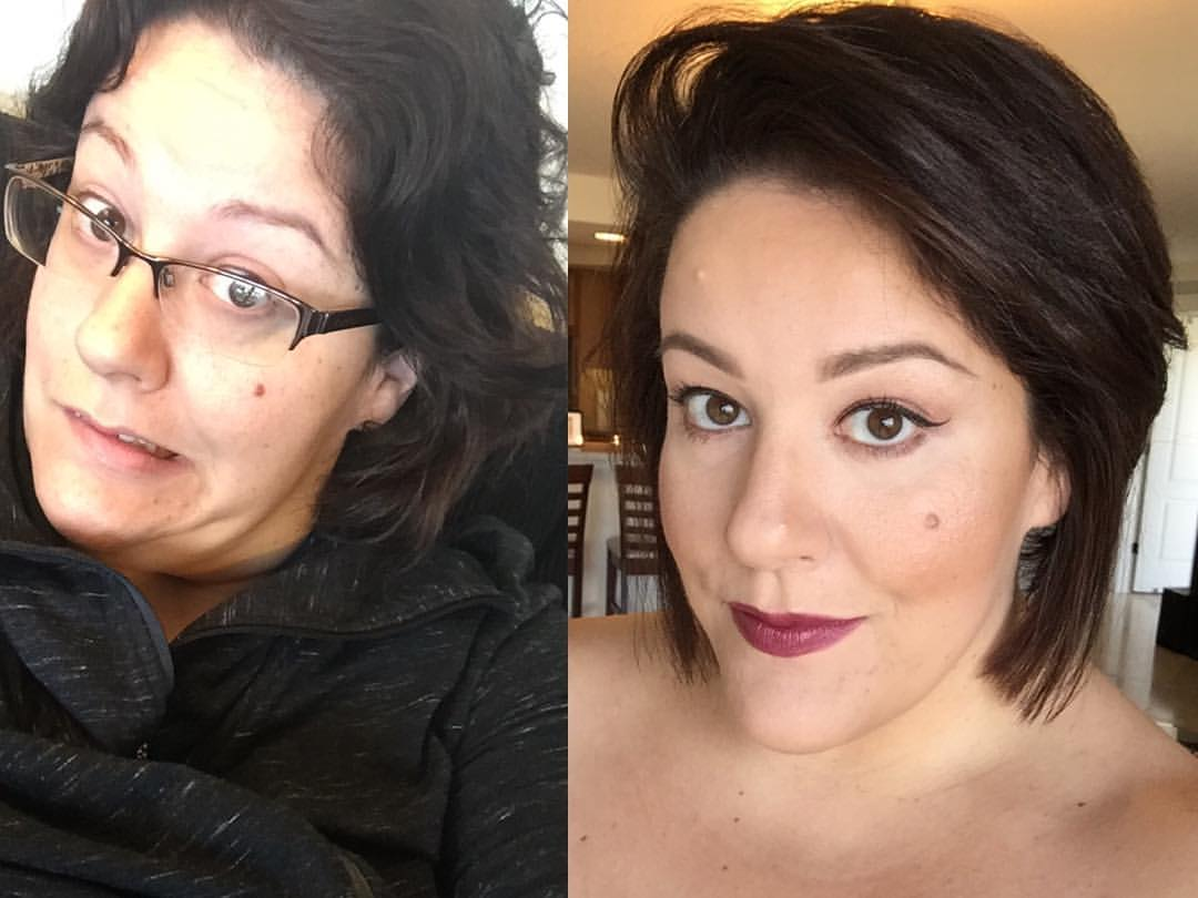 Jessica kane plus size beauty makeup makeover shocking before after