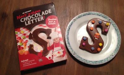 Maak je eigen chocoladeletter