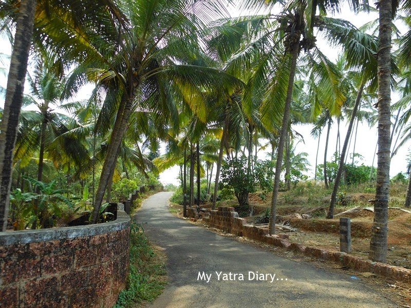 Village of Kannur in Kerala