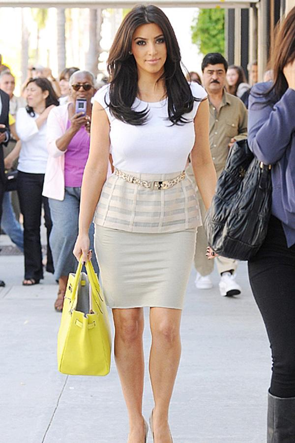 Vs Doll86 Style Icon Of The Week Kim Kardashian