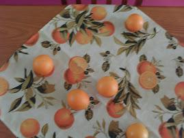 Brotaram laranjas na minha toalha