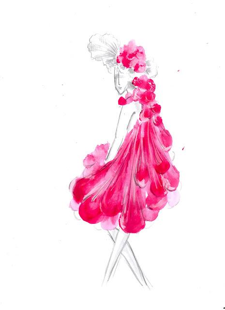 Kostümgeschichte: Avantgardistisches Outift (Kleid)