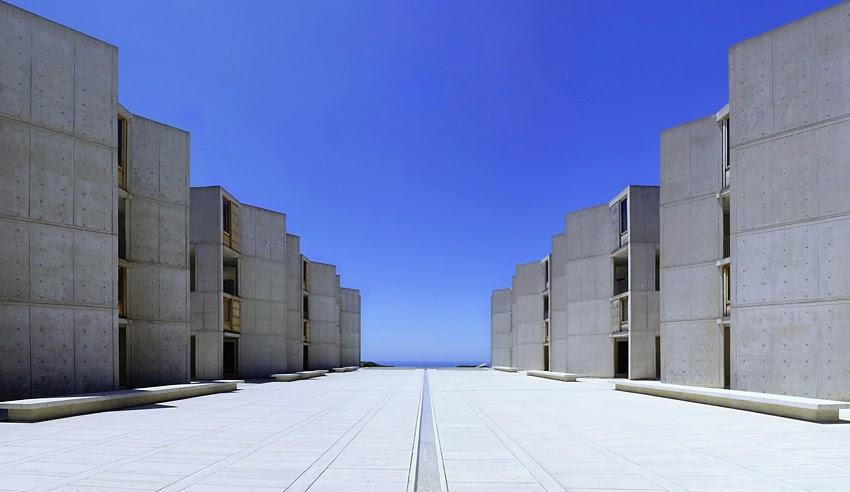 Architecture as aesthetics salk institute louis kahn for Louis kahn buildings