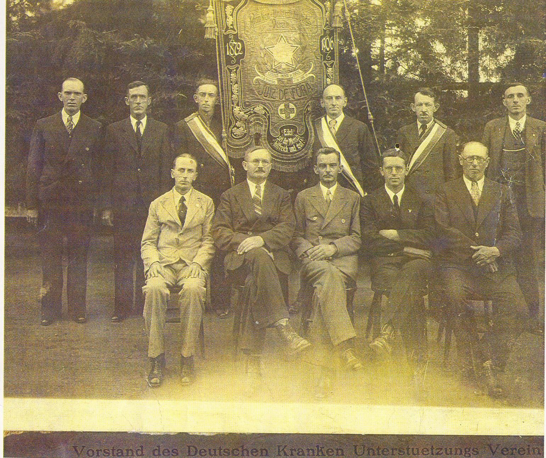 DEUTSCHER KRANKEN-UNTERSTÜTZUNGS-VEREIN, SOCIEDADE ALEMÃ DE SOCORROS MÚTUOS, fundada em 26 de maio