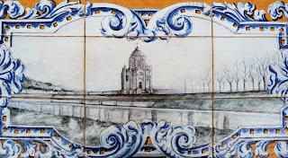 Plaza de España - Sevilla - Azulejo de Guadalajara - Detalle