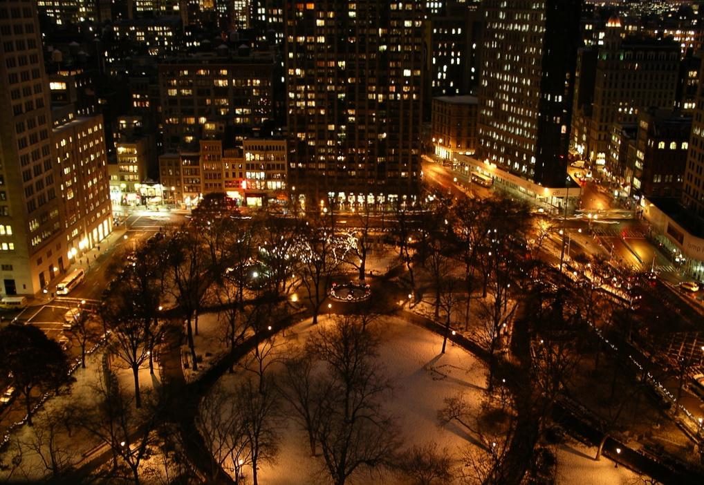 new york at night - photo #37