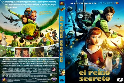 Epic el reino secreto dvdr latino 2013 animaci n for Audio libro el jardin secreto