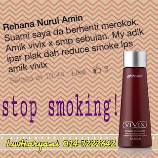 Ikhtiar Berhenti Merokok Dengan Vivix 3