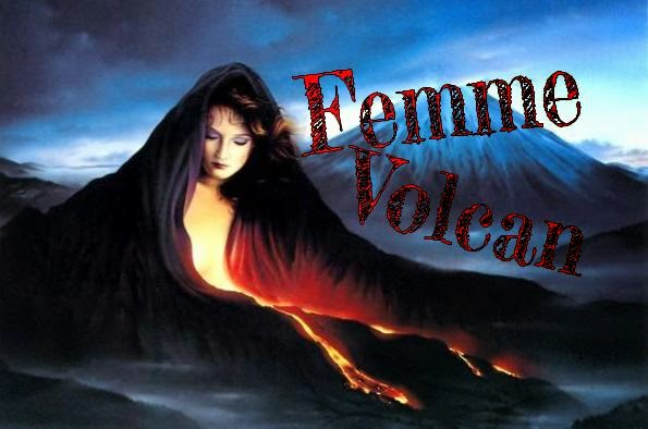 Femme en un volcan, Art feminin