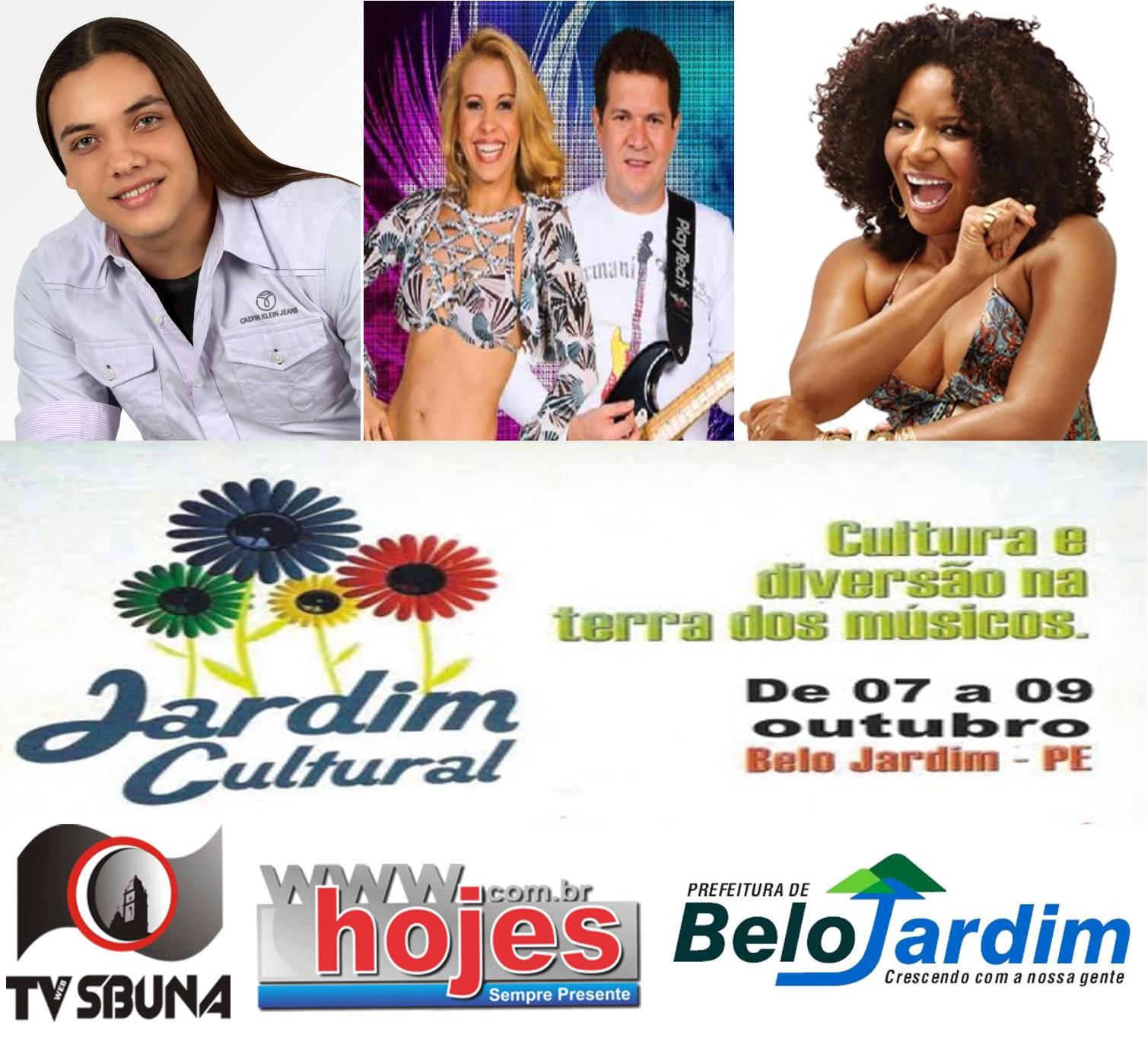 fotos jardim cultural:Prefeitura de Belo Jardim divulga programação do Jardim Cultural