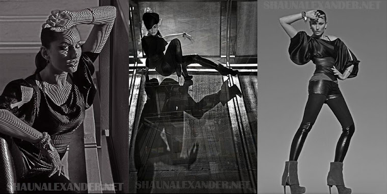 modeling portfolios by NYC model photographer Shaun Alexander