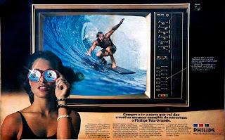 propaganda televisor Philips - 1976. década de 70. os anos 70; propaganda na década de 70; Brazil in the 70s, história anos 70; Oswaldo Hernandez;