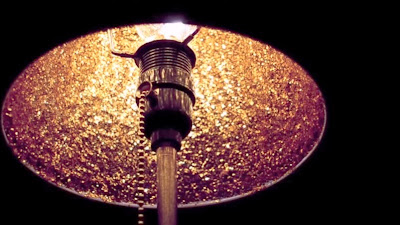 glitter lamp night