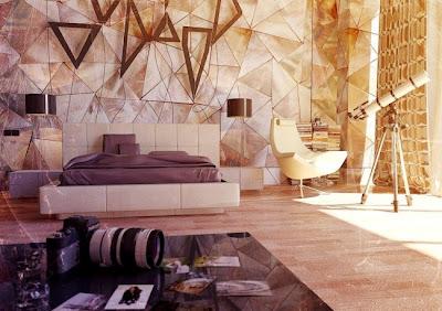 habitación moderno elegante