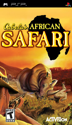 Free Download Cabelas African Safari PSP Game Cover Photo