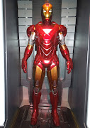 Iron Man Mark VI suit featured in Iron Man 2 (iron man mark vi suit)