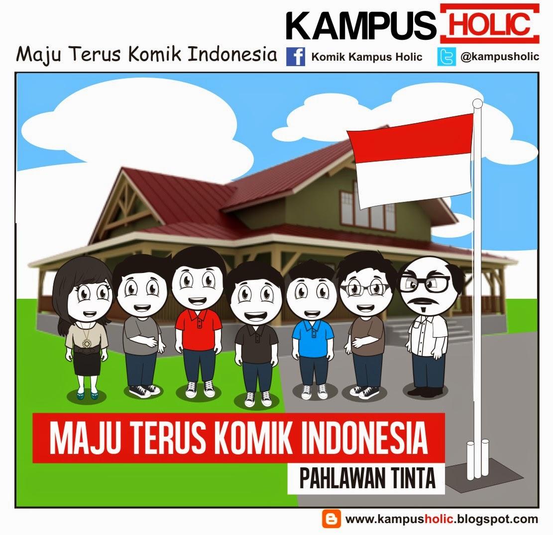 #862 Maju Terus Komik Indonesia