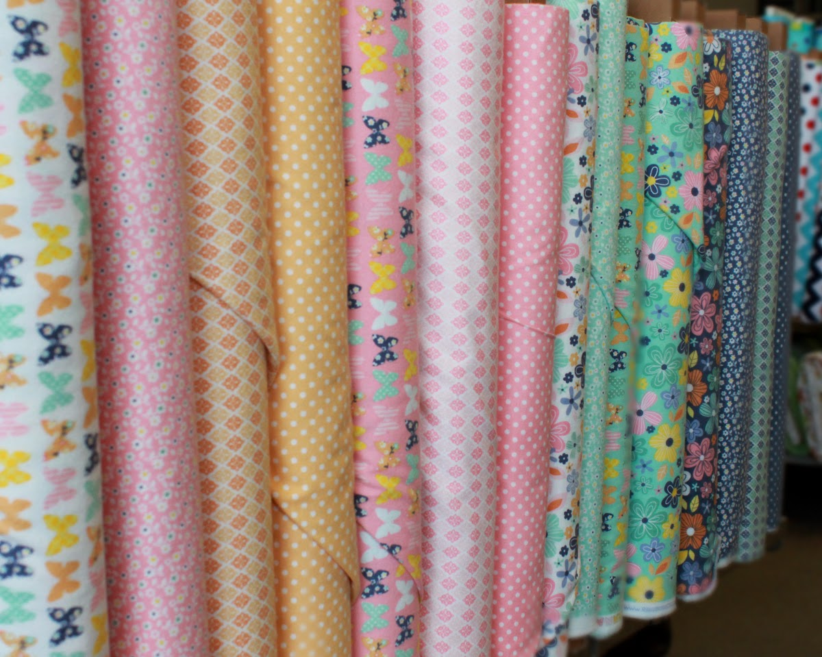 A Beautiful Thing fabric line at The Fabric Mill