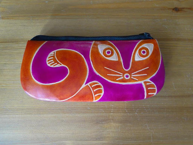Exotic Cat Leather Case Made in India
