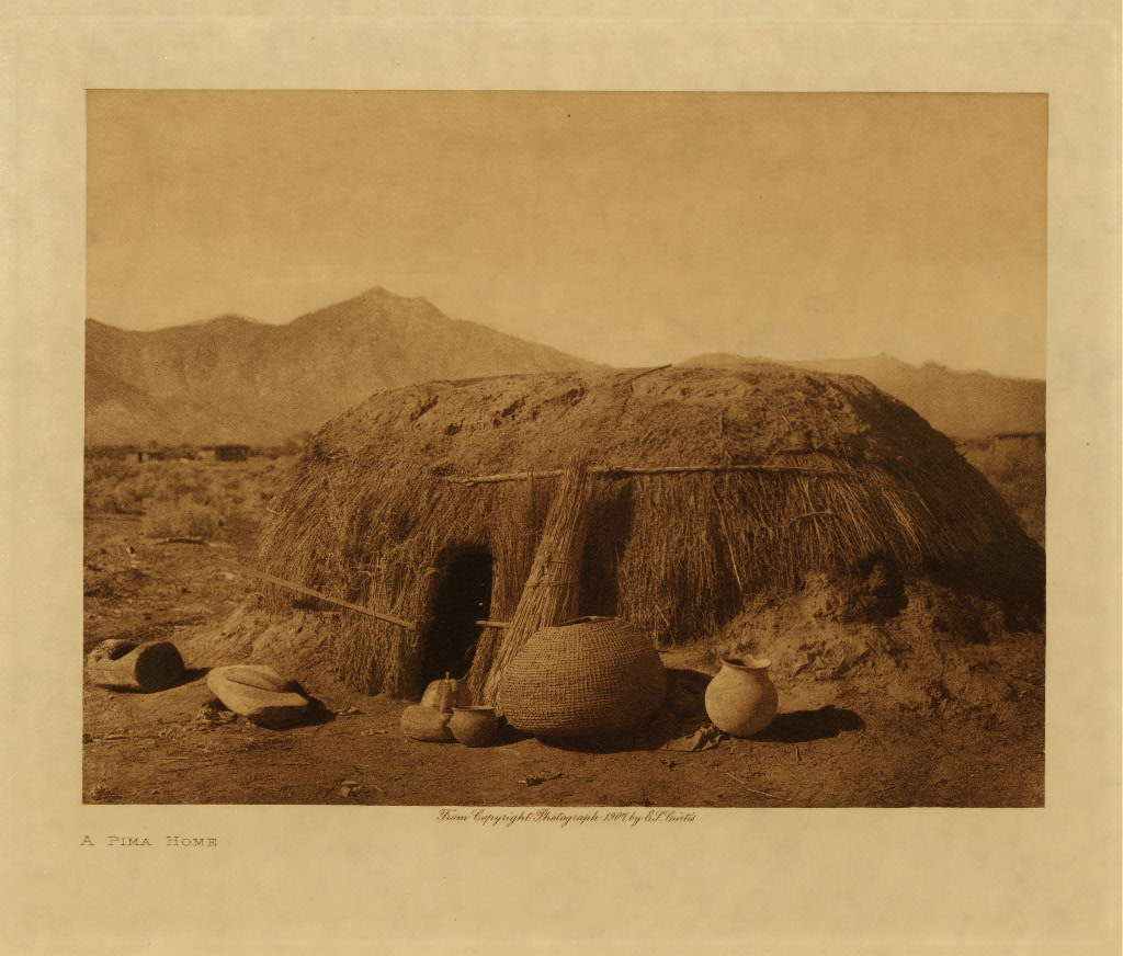 Apache Tribe Houses Pima indian house