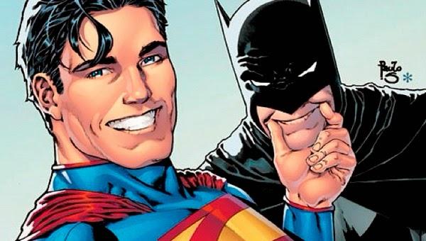 Batman y Superman se suman a la fiebre de los Selfie