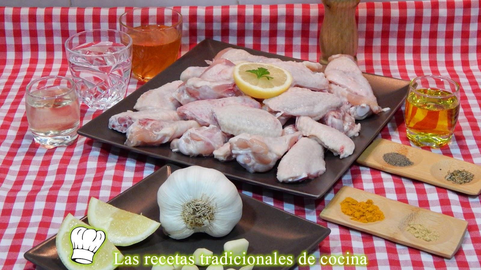 Receta fácil de alitas de pollo con miel