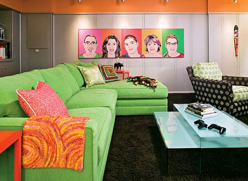 Fresh Decor Retro And Pop Art For Interior Design