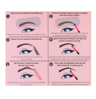 how to use sephora eyebrow kit