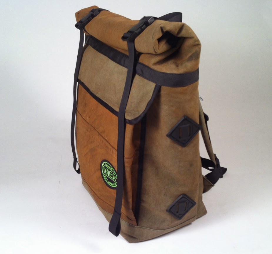 MER BAGS: LARGE BASIC BACKPACK ROLL TOP
