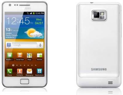 White Galaxy S II In UK
