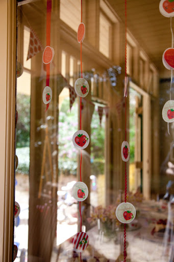 Strawberry Birthday Party printable garland