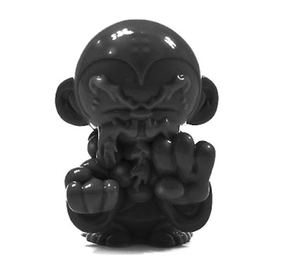 San Diego Comic-Con 2015 Exclusive Ebony Pocket Monkey Kung Fu Master by Hyperactive Monkey