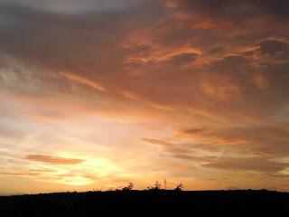 sunset, solstice, summer, sun, sky, beautiful