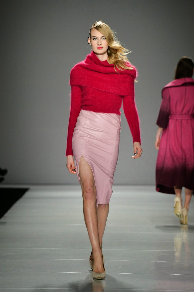 World-MasterCard-Fashion-Week, Toronto-Show, Line-Knitwear, Runway, FW14-Collection