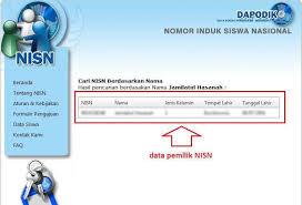 Cara Mencari NISN Siswa SD, MI, MTs, SMK, Alumni Lewat Internet