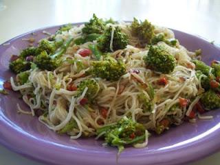 Comida con brócoli