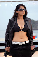 South Indian Actress Anushka Shetty hot Navel Photo