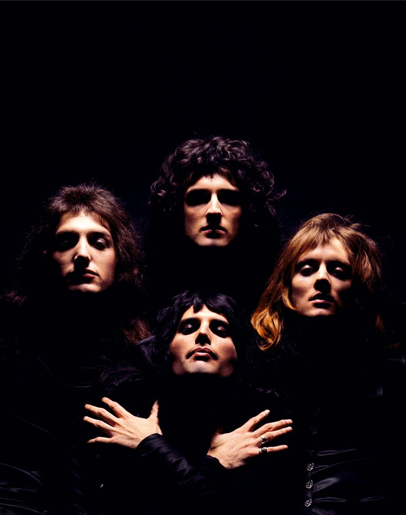 Queen photographié par Mick Rock