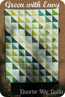 http://quartermilequilts.blogspot.com/2013/12/green-with-envy-finished.html