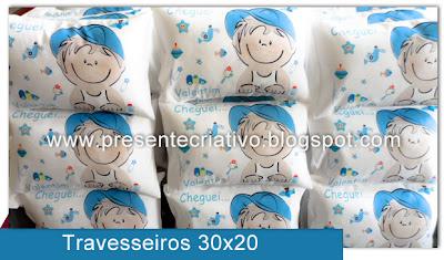 Travesseirinhos infantis