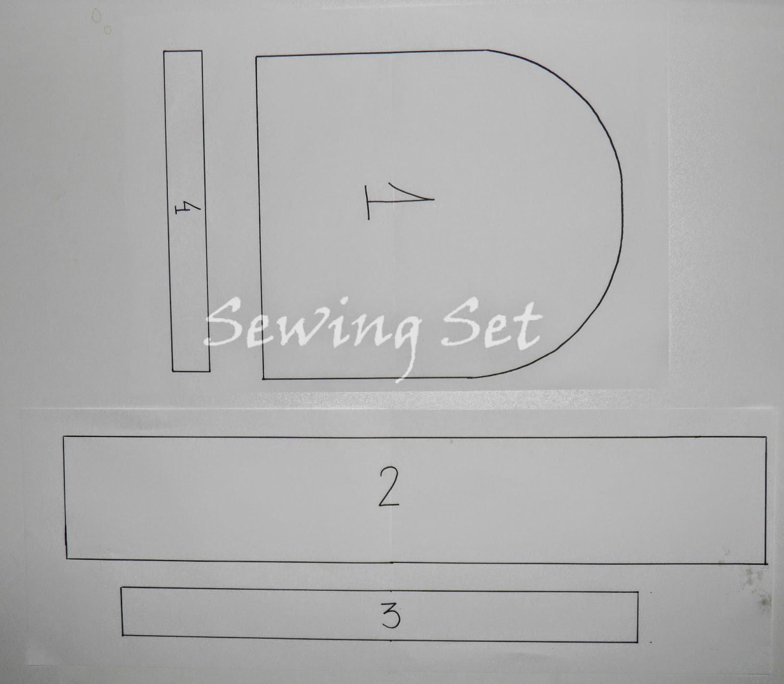 Sewing Set: PATRÓN MOCHILA INFANTIL