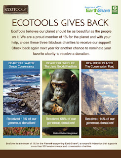 Go Green with Ecotools