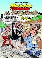 Ranking Semanal: Número 6. El Tesorero, de Francisco Ibáñez.